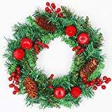 LITVZ Garland Christmas Wreaths,14