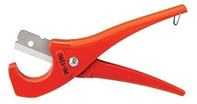 Ridgid 23488 Scissor-Style Plastic Pipe and Tubing Cutter