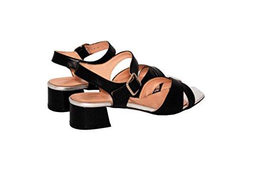 Sandalen Sandaletten aus Leder Schuhe Damen RIPA shoes - 55-732