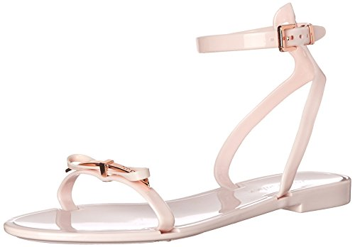 Ted Baker Women's Lavayndar Jelly Sandal, Light Pink, 6 M US