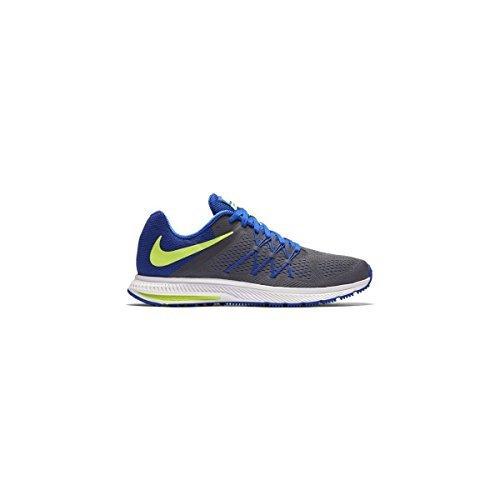 Cheap Nike Men's Zoom Winflo 3 Running Shoe-DkGrey/VoltBlue/Wht-8.5