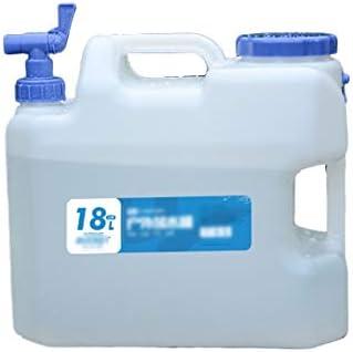 水のストレージバケツで蛇口、ポータブルウォーターコンテナ、キャンプ水タンク、多機能、大容量 (Color : 18L)