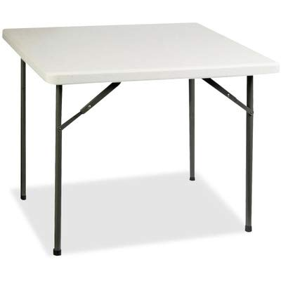 Lorell Banquet Table, 36 by 36 by 29-Inch, Platinum ()
