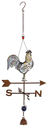 Sunset Vista Rooster Bouncy Outdoor Decor