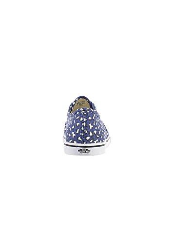 Leopard US VN Pro Lo 5 B White True 0W7NFG9 Women Herringbone Blue Twilight Vans Authentic M qvS6nwRF