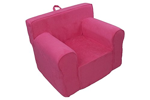 Fun Furnishings Everywhere Foam Chair, Hot Pink (Anywhere Chair Insert compare prices)