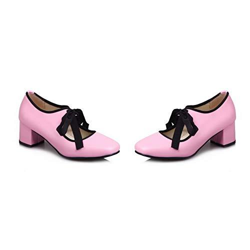 Baile Piel para Rosado APL10549 BalaMasa de de Zapatos Mujer tXFx7qg