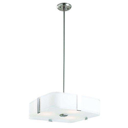 DVI Lighting DVP18006SN-SSOP KII Pendant Light In Satin Nickel (Ssop Satin)