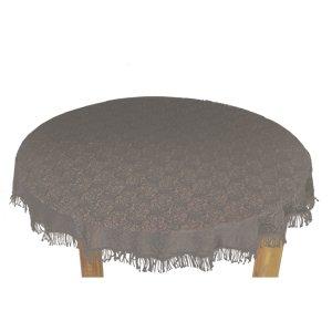 Tischdecke Outdoor Tischdecke Fur Gartentisch Rund In Grau O160cm