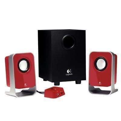 LS21 2.1 Speakers - Red
