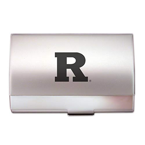(LXG, Inc. Rutgers University - Two-Tone Business Card Holder - Silver)
