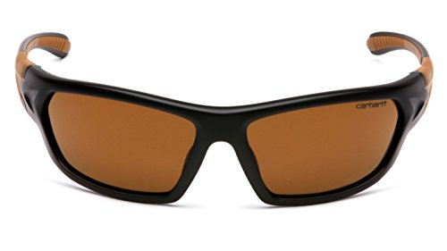 Carhartt Carbondale Safety Sunglasses with Sandstone Bronze Lens by Carhartt (Image #1)