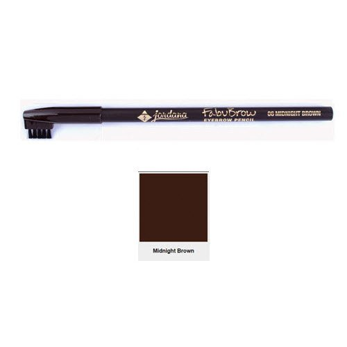 2 Pack Jordana Fabubrow Eyebrow Pencil 06 Midnight Brown