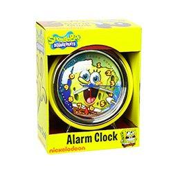 SpongeBob Square Pants Retro Analog Alarm (Mlb Baseball Alarm Clock)