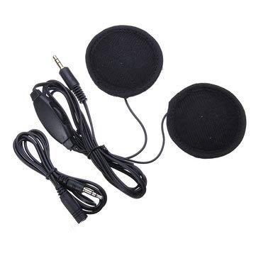 Motorcycle Helmet Intercom & Headset - Motorcycle Helmet Stereo Earphone Headset for MP3 Music Device