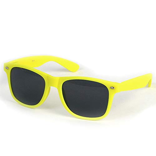 Rubber Coated Soft Feel Spring Hinge Sunglasses P714 (Neon ()