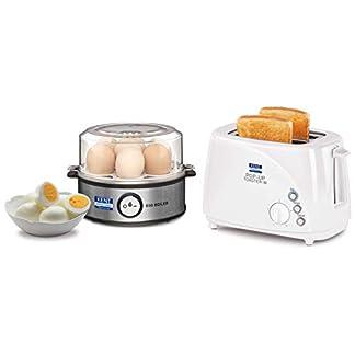 KENT Instant Egg Boiler & Pop-up Toaster Combo