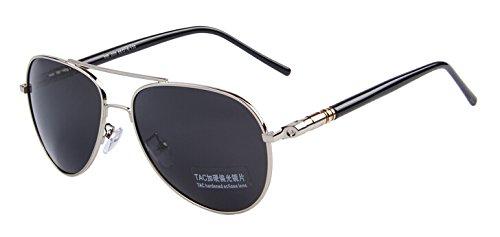 gafas polarizadas Silver C07 plateada lo Multicolor Oculos hombres sol verano Por noche Black C03 TIANLIANG04 de conducción tanto aXAq8xB