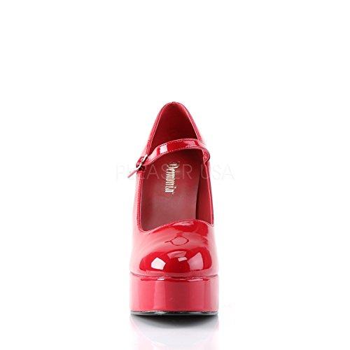 PleaserUSA Womens Platforms Dolly-50 Red Patent ANIU9u6