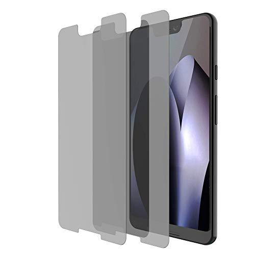 HYAIZLZ Google Pixel 3 XL Privacy Screen Protector 2pcs 9H Hardness Tempered Glass Anti-Spy Screen Protector Shield for Google Pixel 3 XL 6.3 inch