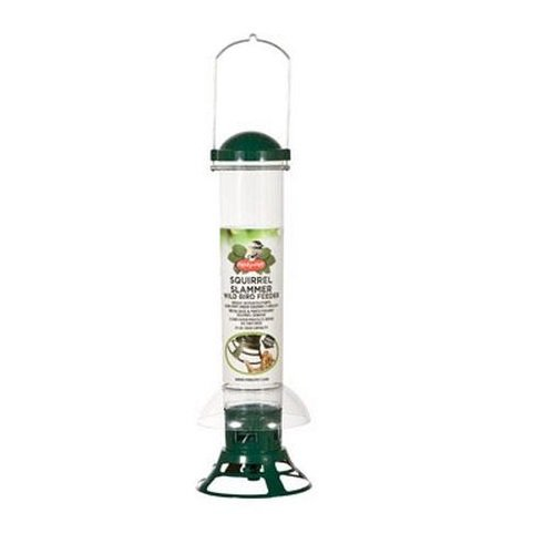 Perky Pet 5141-2 3-1/2 Lb Capacity Squirrel-B-Gone Squirrel Slammer Bird Feed