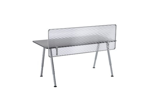 - Iceberg ICE68901 OfficeWorks Polycarbonate Privacy Screen for OfficeWorks Freestyle Teaming Tables, 57