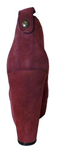 21KLN Fashion Stiefeletten Damen Koolaburra amp; Katelyn Rot Halbstiefel 5qxangvw4