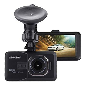 Uniqus Car DVR Camera 3.0 inch LCD HD 720P 3.0MP Camera 170 Degree Wide Angle Viewing, Support Night Vision Motion Detection TF Card HDMI   G-Sensor