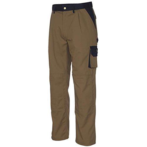 Mascot 00979-430-61-90C46 Torino Pantalon Taille Longueur 90 cm/C46 Blanc/Bleu Marine