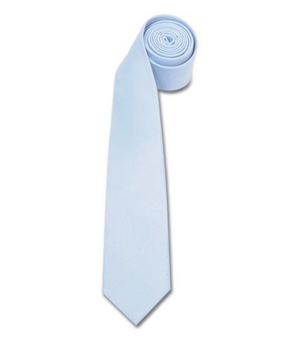 Polyester Slim Tie , Baby Blue