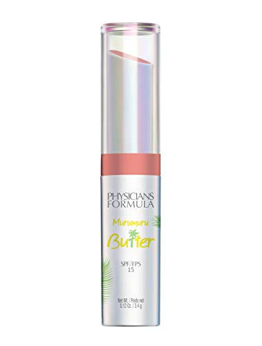 Physicians Formula Spf 15 Murumuru Butter Lip Cream, Soaking Up The Sun, 1 Tube