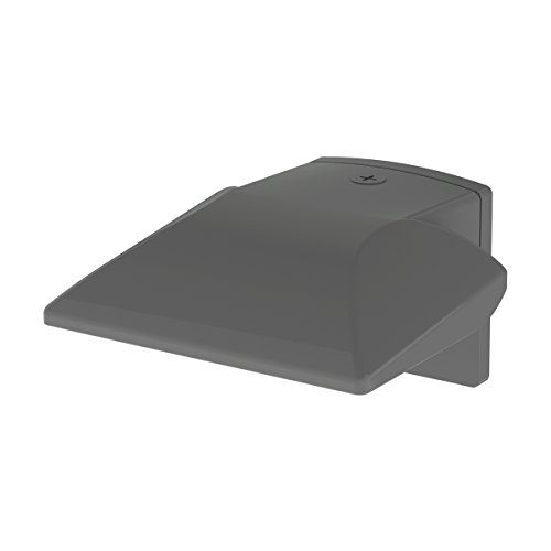 (WAC Lighting WP-LED219-30-aGH Contemporary Endurance Hawk LED Energy Star Outdoor Wall Light with 19W Warm White in Architectural Graphite)