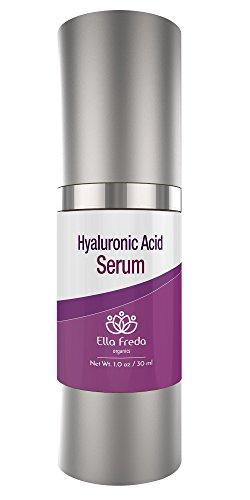 Hyaluronic Acid Serum - Anti Aging, Anti Wrinkle - Diminishes Wrinkles & Fine Lines on Face leaves Skin Hydrated Full & Plump 1Fl. oz