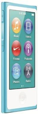 Apple iPod Nano 16GB Blue (seventh Generation) (Renewed)
