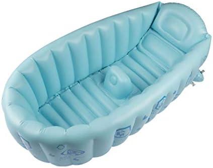0-3歳の新生児キッド幼児幼児用ベビー膨らませて浴槽には大きなポータブル旅行折りたたみシャワー浴槽新生児浴槽子供風呂幼児児童洗浄スイミングプールポーチ付き
