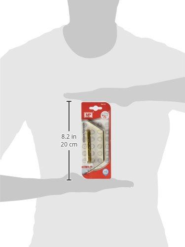 MP PA131 Set de 6 fasteners met/álicos