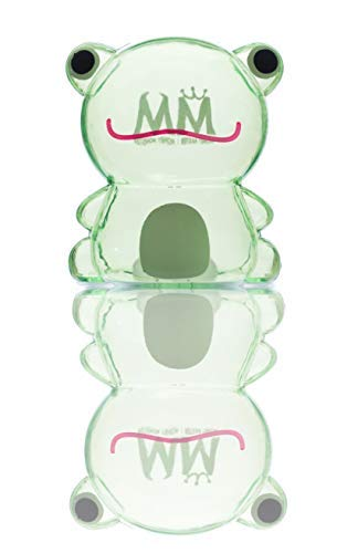 Money Master Kids Smart Frog Bank, Clear Plastic Light & Small Enough to Fill UP Fast! Make Saving Money Fun for Kids!