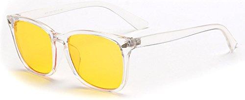 Leopardo Anti de Ojo transparente de Ordenador protección Juego Gafas de Anti y para antideslumbrante Gafas Merriz Azules UV Trabajo el Gafas y para Rayos pBWg4