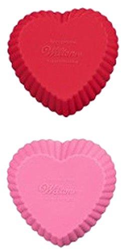 Wilton Mini Heart Silicone Baking Cups