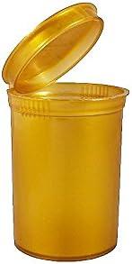 Poptops Squeeze Tubs Snap s/écuris/ée 25/x 30dr 30/DRAM Plastique Pop Top Container Bouteille fioles//–/Peut contenir jusqu/à 7/g Gram//–/RX /étiquettes Inclus BIGSMOKESUPPLIES