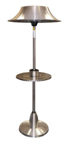 AZ Patio Heaters HIL-3029 Electric Patio Heater with Table (Az Patio Heaters Infrared compare prices)