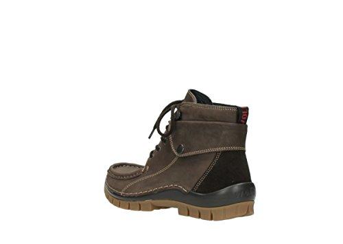 Wolky Schnürboot, Fettnubuk brown, herausnehmbares Fußbett für eigene lose Einlagen, Jump Winter 4725-530