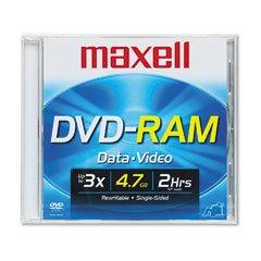 Maxell 1-pack DVD-RAM Media 4.