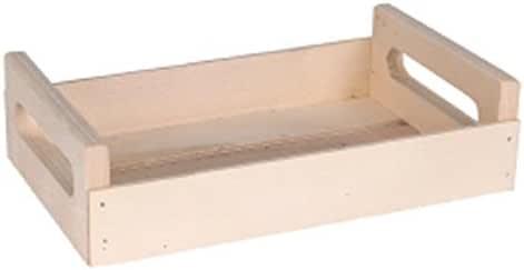Klimer Caja de madera con asas 20x12x6 cm. Precio 9,81€: Amazon.es: Hogar