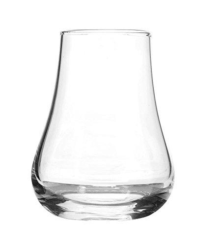 Sagaform 5017622 Whiskey Tasting, Set of 2 Glasses with Coasters, 5 oz, Clear by Sagaform (Image #3)