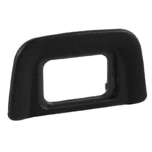 TOOGOO R Ocular Parasol de Plastico Revestido de Goma Negro DK-20 para Nikon D5100 D5000 D3100