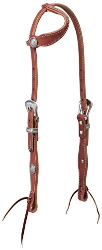 (Weaver Leather Old West Sliding Ear Headstall)