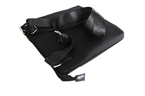 Borsello uomo Roncato tracolla per mini tablet bandoliera piatta 46.59.32 nero