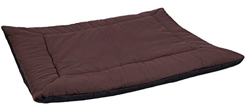 Paws-Pals-25-inches-x-37-inches-Self-Warming-Pet-Bed-Cushion-Pad-Dog-Cat-Cage-Kennel-Crate-Soft-Cozy-Mat-Brown