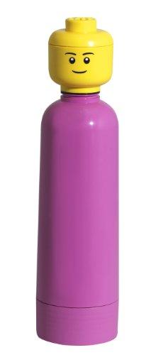 LEGO Drinking Bottle, Bright Pink